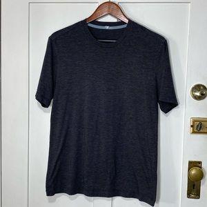 Lululemon medium gray athletic tee t-shirt
